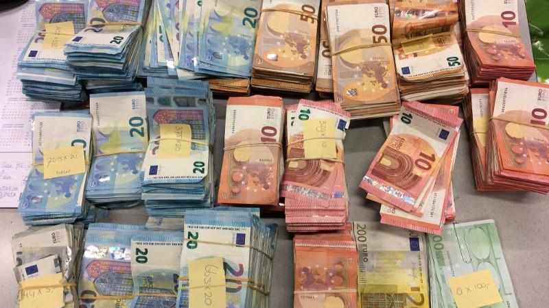 Politie vindt 'big money' in big shoppers (Foto: Politie.nl)