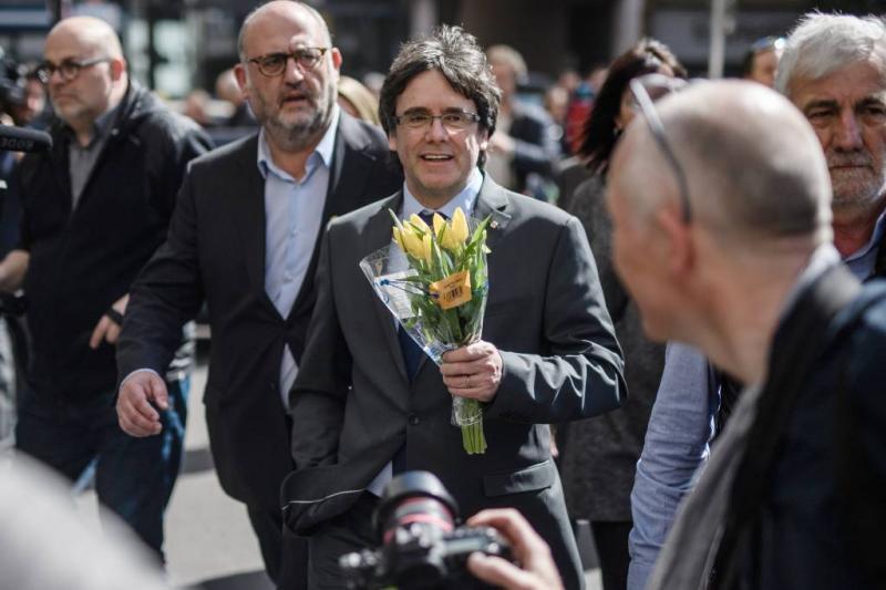 Puigdemont mag in Berlijn blijven