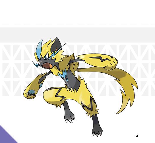 Zeraora Pokémon