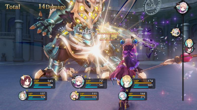 Atelier Lydie & Suelle: The Alchemists and the Mysterious Paintings - Battle (Foto: Koei Tecmo)