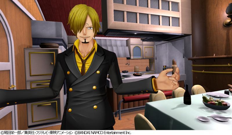 One Piece: Grand Cruise - Sanji (Foto: Bandai Namco)