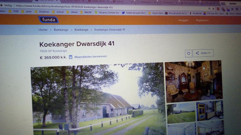 Woning waar vermiste Willeke Dost woonde te koop (Foto: FOK!)