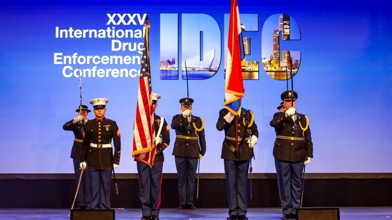 Nederland gastheer internationale drugsconferentie (Foto: politie.nl)