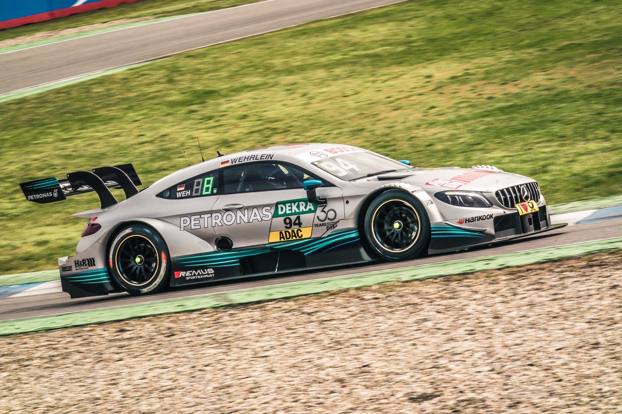 2018 DTM Mercedes Pascal Wehrlein