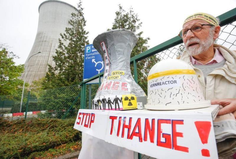 Aangifte tegen België om kerncentrales