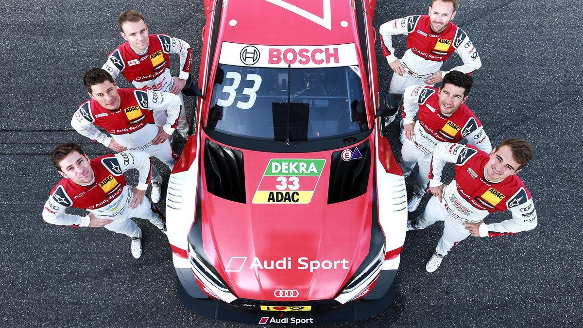 2018 DTM Audi coureurs