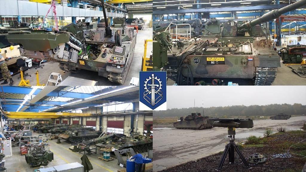 Werkplaats instandhoudingsbedrijf Leusden (Foto: Ministerie van Defensie)