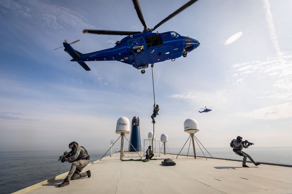 Oefening Port Defender 2018 (Foto: Ministerie van Defensie)
