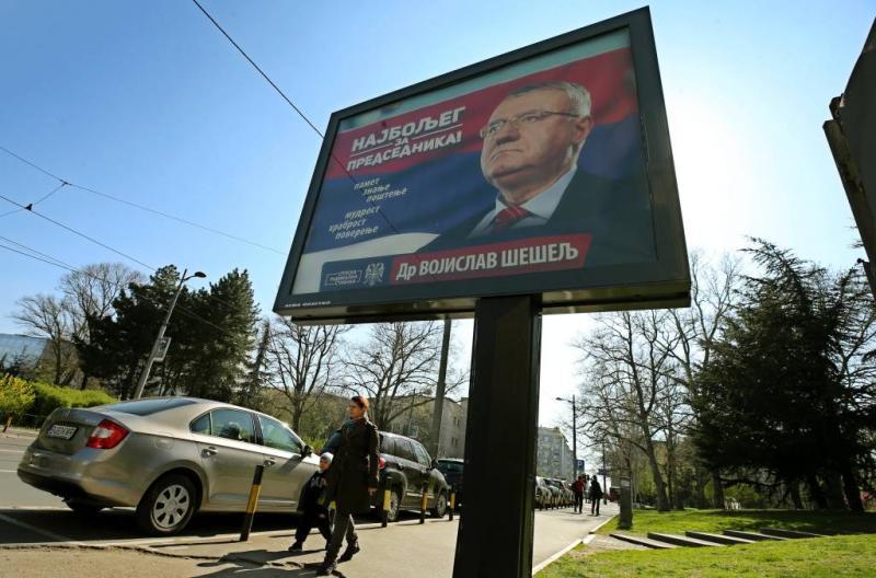 Tien jaar cel voor Serviër Seselj