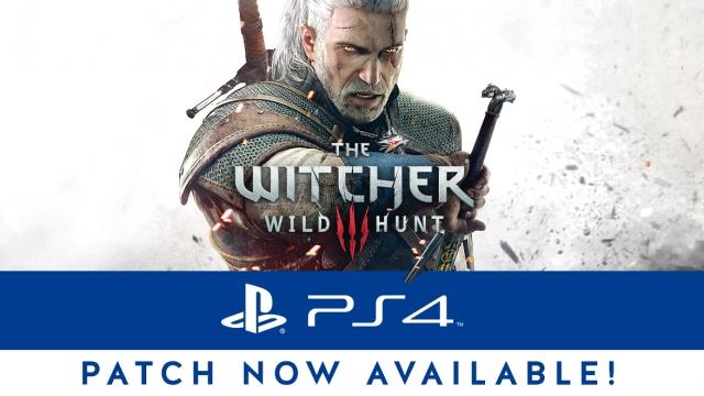 nieuwe patch witcher 3