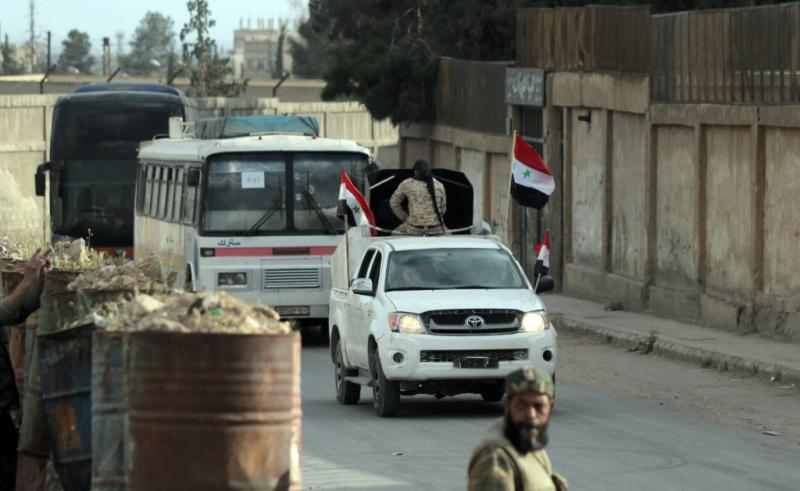'Douma nu volledig in handen van leger Syrië'