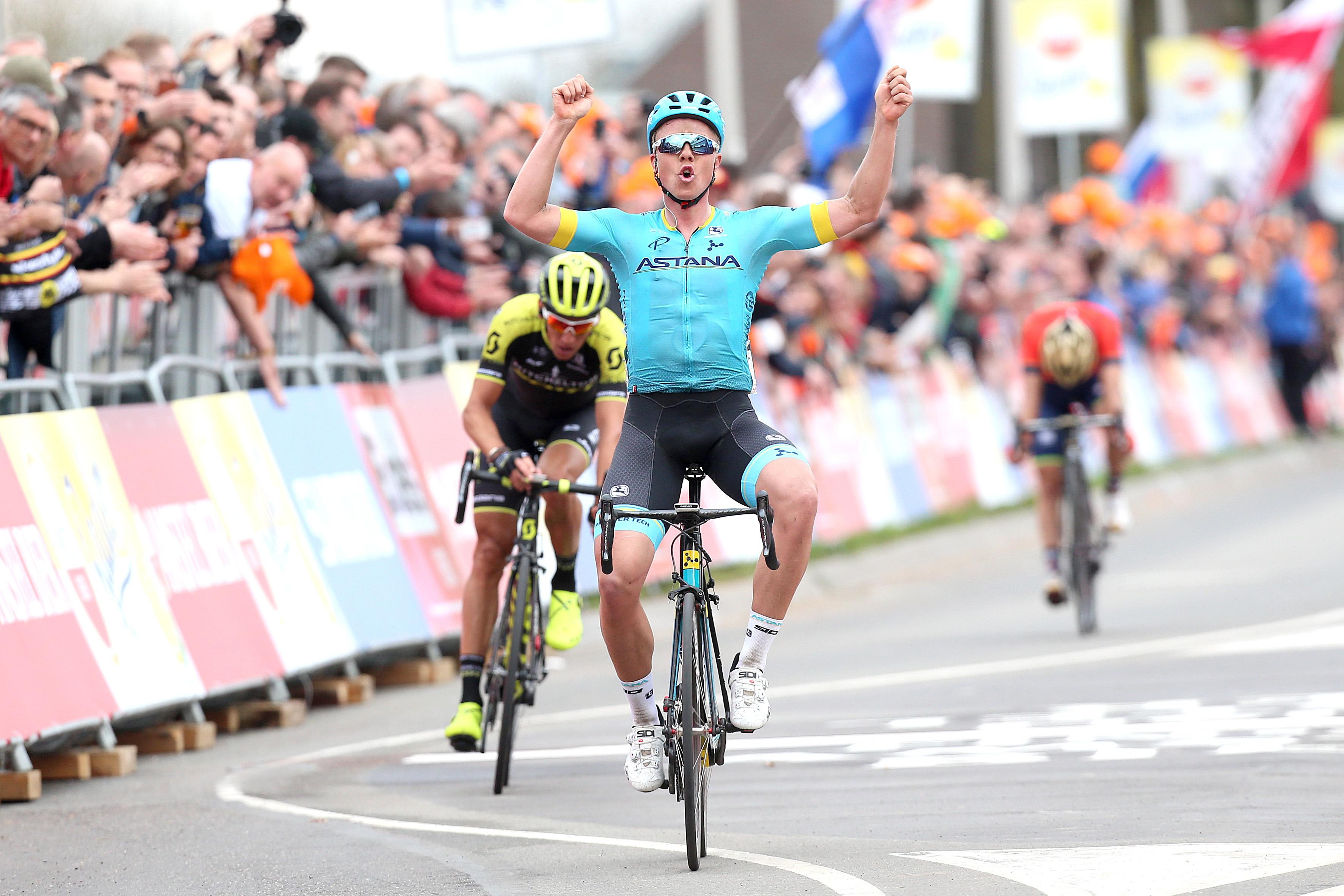 Valgren Andersen wint Amstel Gold Race