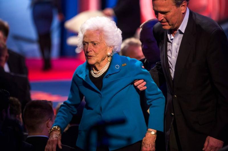 Behandeling Barbara Bush (92) gestaakt