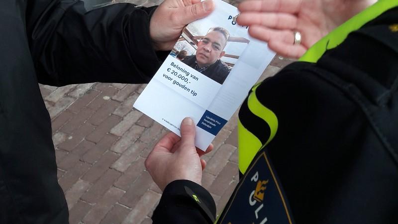 3e aanhouding na terrasliquidatie Amsterdam (Foto: Politie.nl)