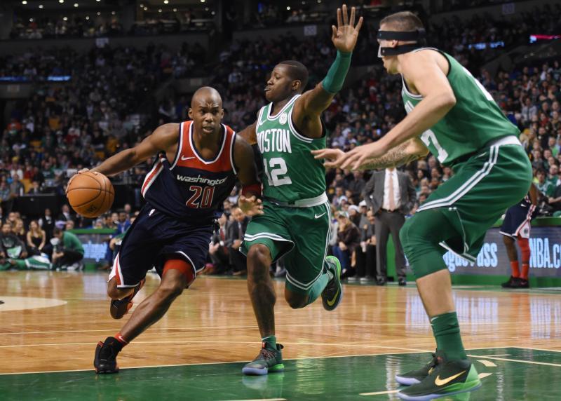 Wizards-basketballer Meeks (nr. 20) betrapt op doping, maar ontloopt zware schorsing (Pro Shots / Action Images)