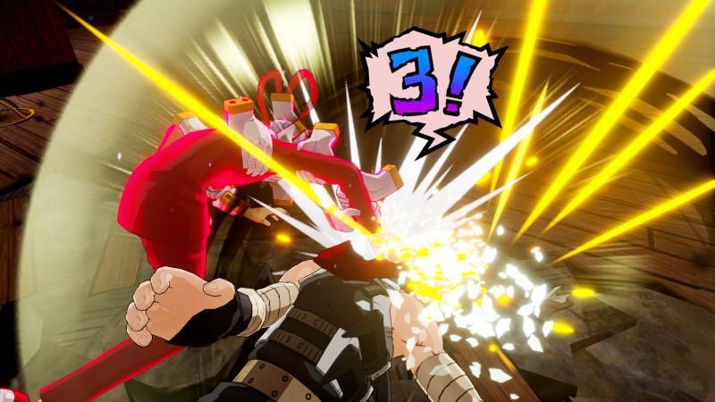My Hero One's Justice - Shigaraki Countdown 3 (Foto: Bandai Namco)