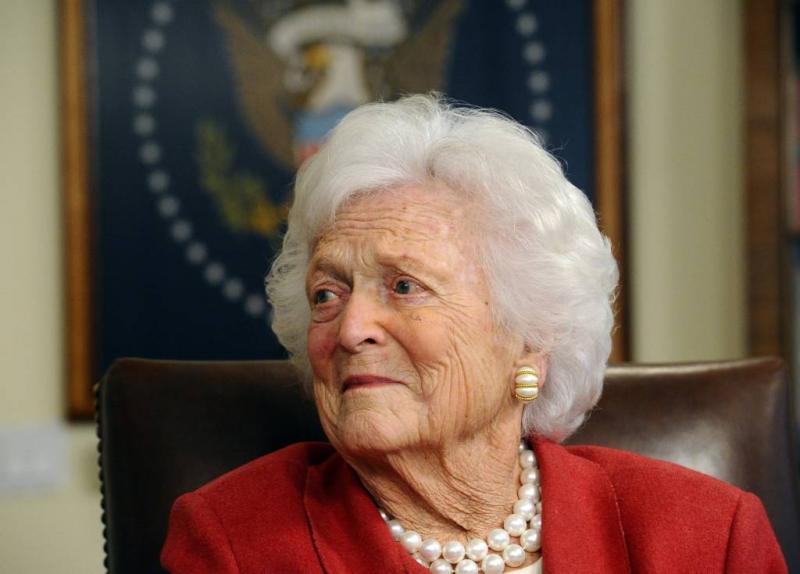 Barbara Bush op 92-jarige leeftijd overleden