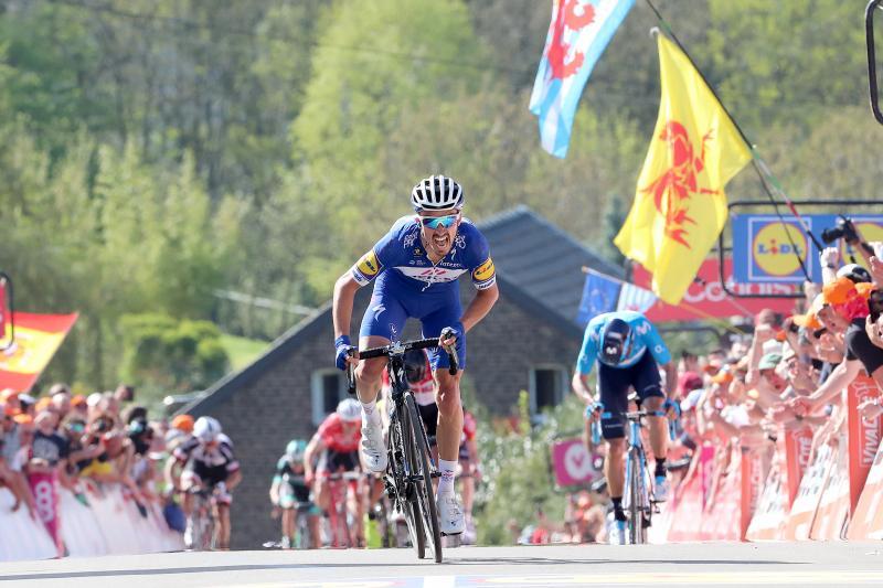 Alaphilippe wint Waalse Pijl voor Valverde (Pro Shots / George Deswijzen)
