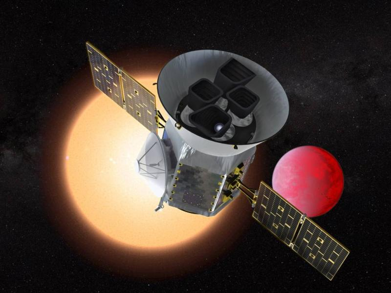 Nieuwe NASA-telescoop in de ruimte
