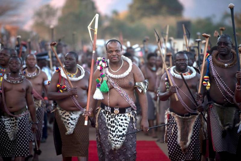 Koning Swaziland geeft land nieuwe naam