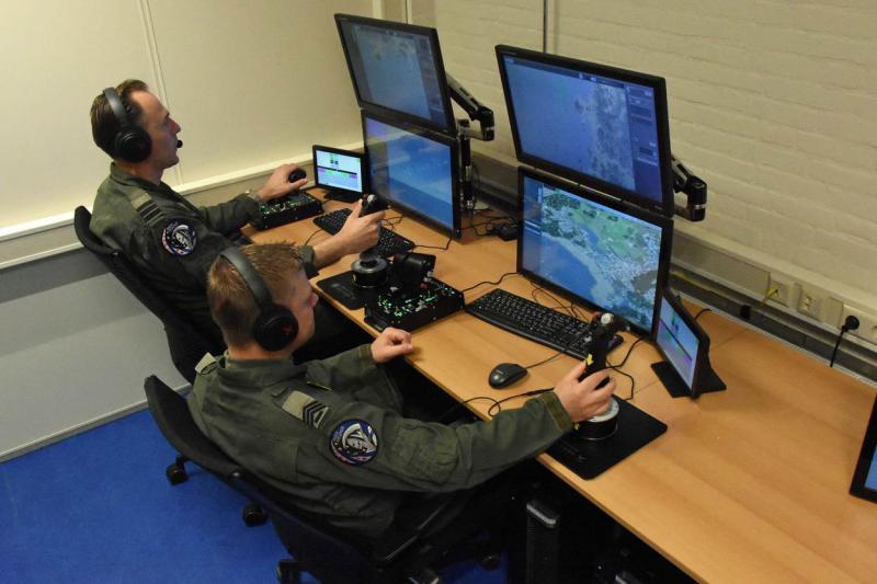 Defensie ontvangt UAV-simulator (Foto: Ministerie van Defensie)
