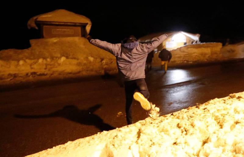 Actie tegen migranten op Franse bergpas