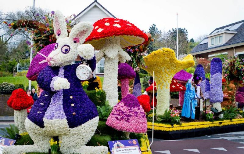 Bloemencorso Bollenstreek viert het voorjaar