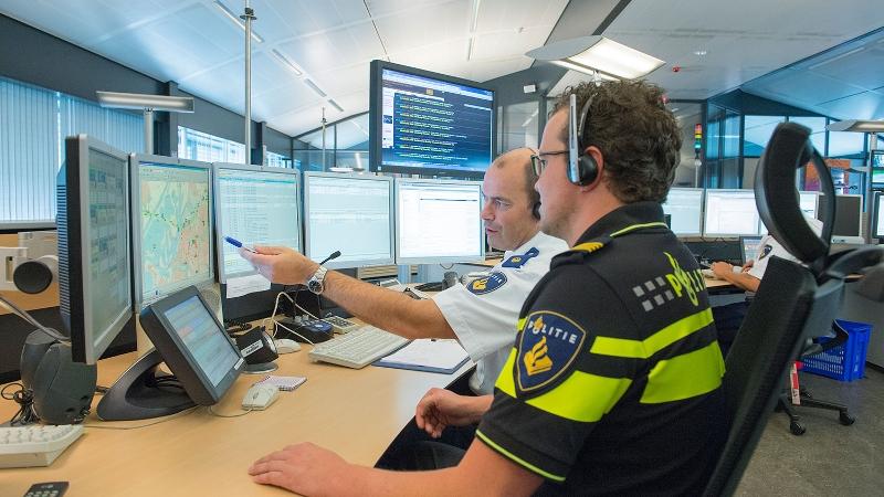 15-jarige aangehouden voor overvallen (Foto: Stockfoto politie.nl)