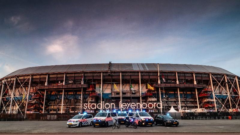 Alcoholverbod tijdens bekerfinale in Rotterdam (Foto: Politie.nl)