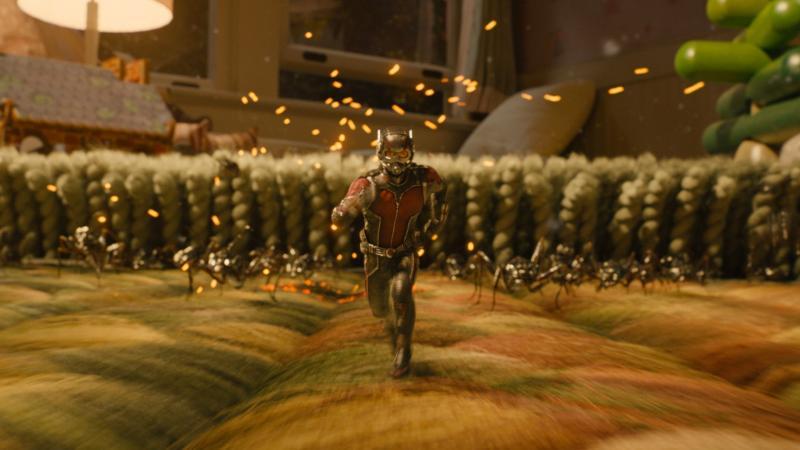 Ant-Man: Scott Lang tussen het tapijt