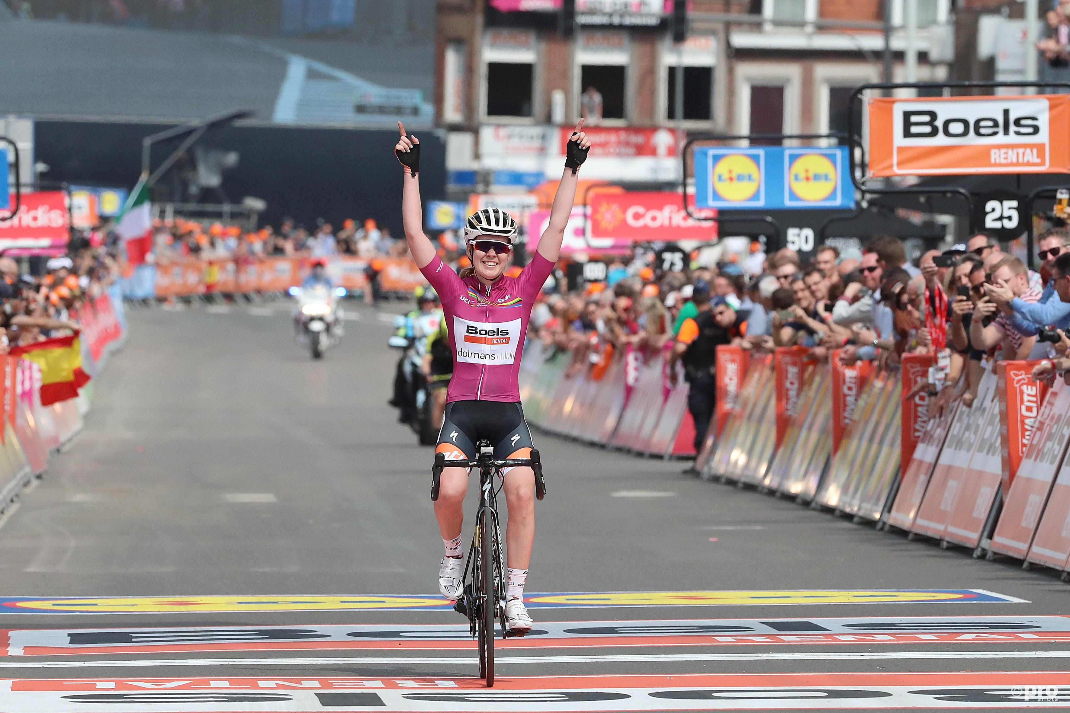 Anna van der Breggen wint Luik-Bastenaken-Luik (Pro Shots / George Deswijzen)
