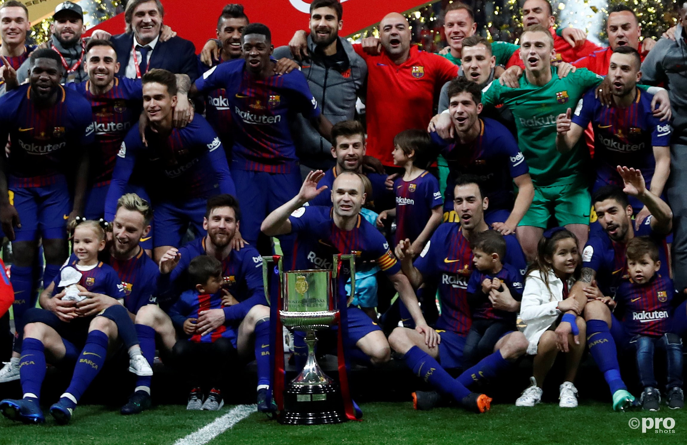 Barca wint de Copa del Rey. (PRO SHOTS/Action Images)