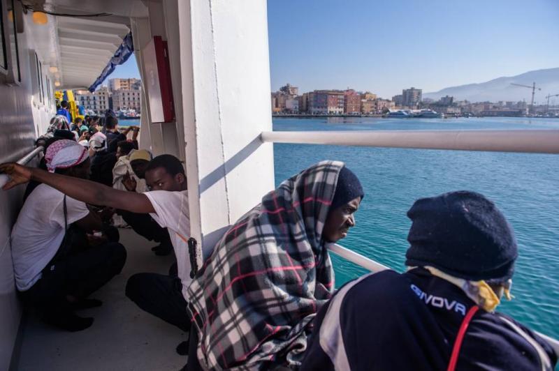 Duizend migranten gered op Middellandse Zee