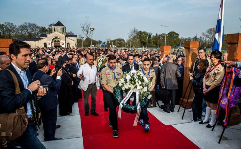 Kabinet bij herdenking Armeense genocide