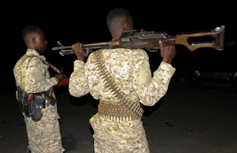 'Soldaten Somalië plunderden trainingscentrum'