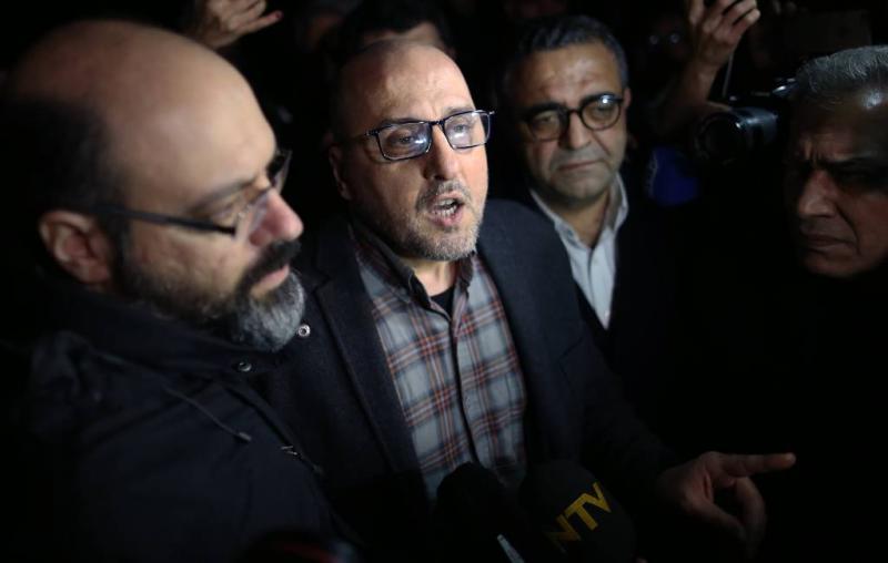 Gevangenisstraffen voor personeel Turkse krant