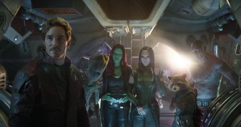 Avengers: Infinity War Guardians