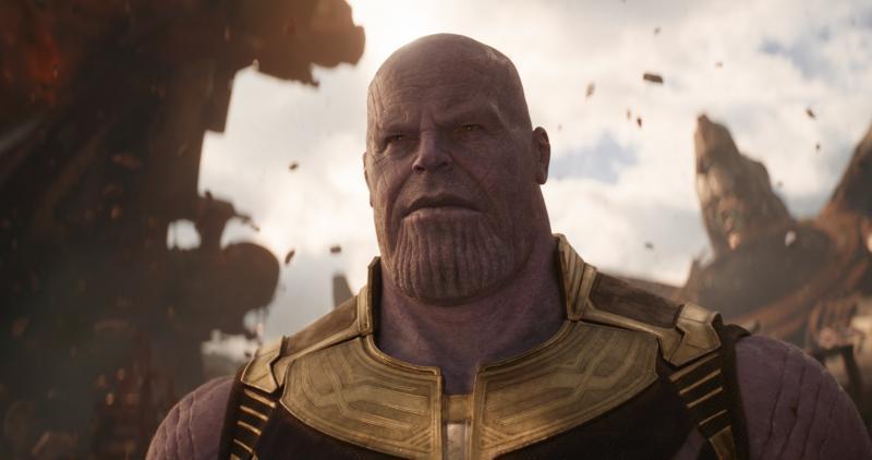 Avengers: Infinity War Thanos