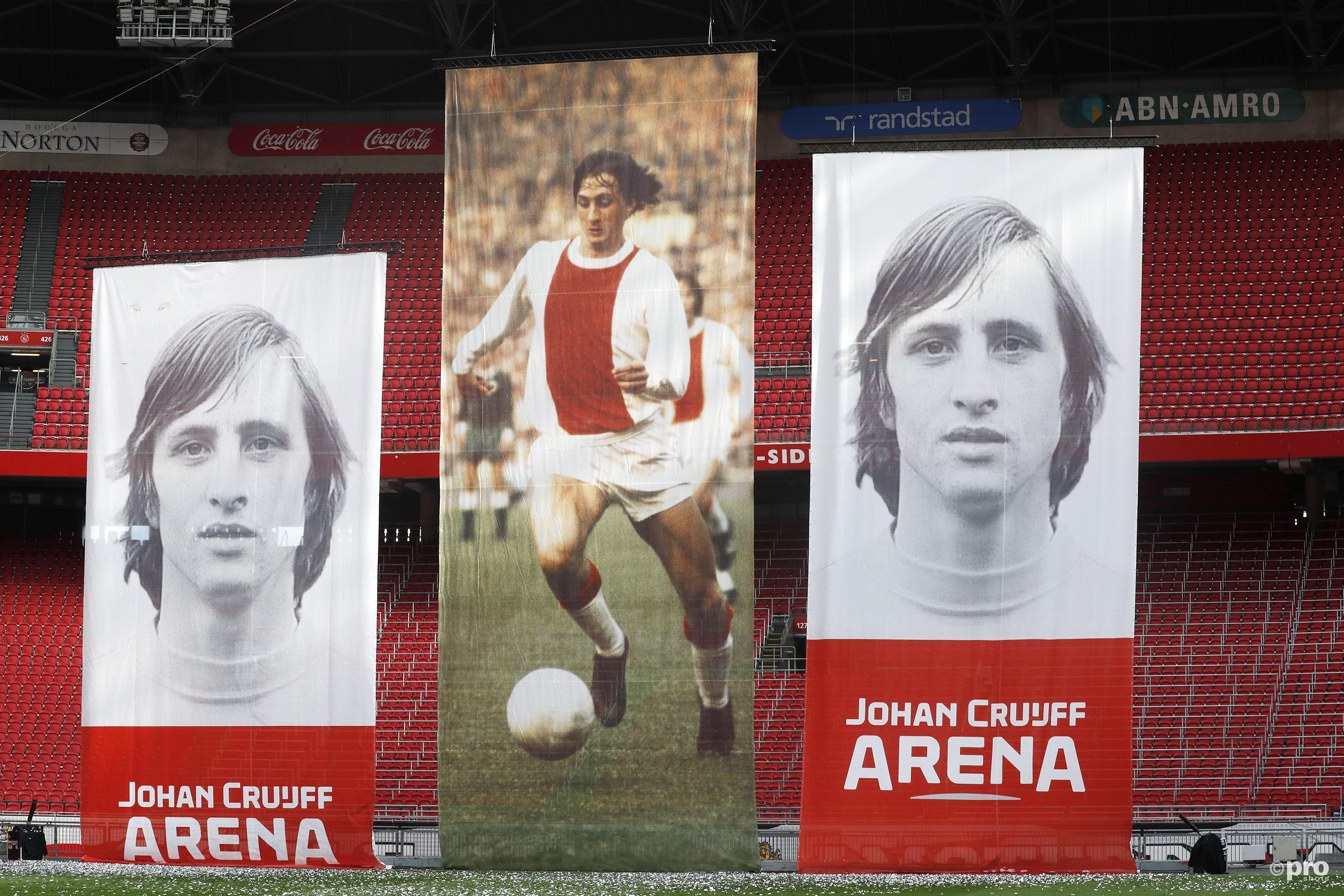 Nieuw logo Johan Cruijff Arena (Pro Shots / Stanley Gontha)