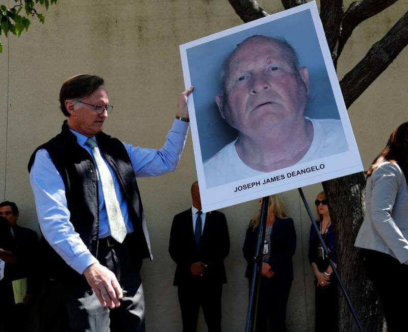Vermeende 'Golden State Killer' voor rechter