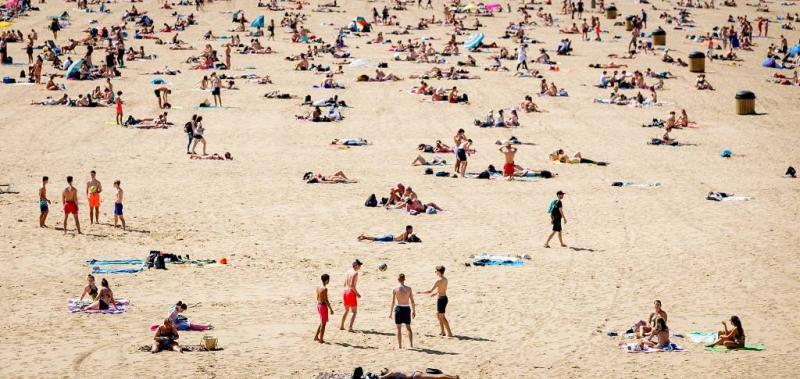 Stranden dijen wereldwijd uit
