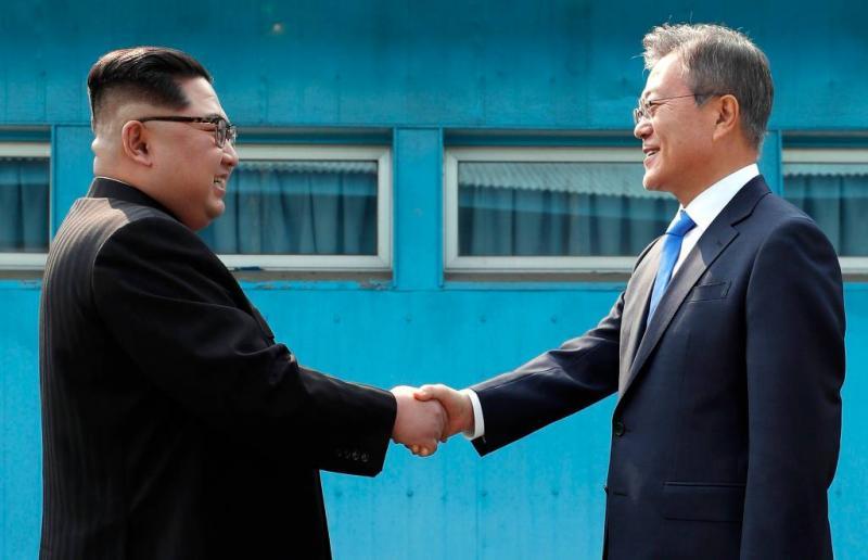 'Geen nucleaire wapens maar vrede in Korea'