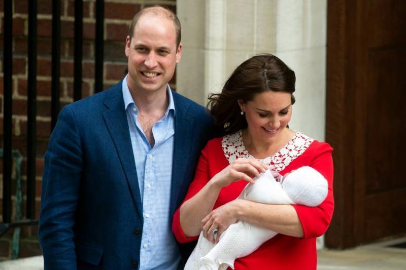 Derde kind van William en Kate heet Louis