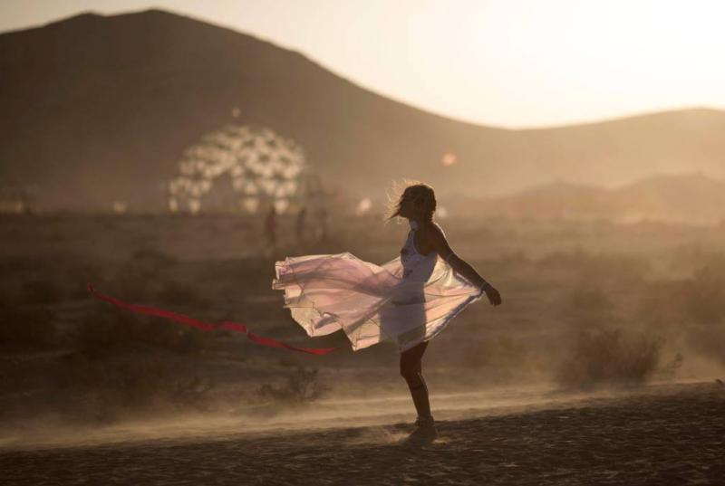 Oprichter Burning Man-festival overleden