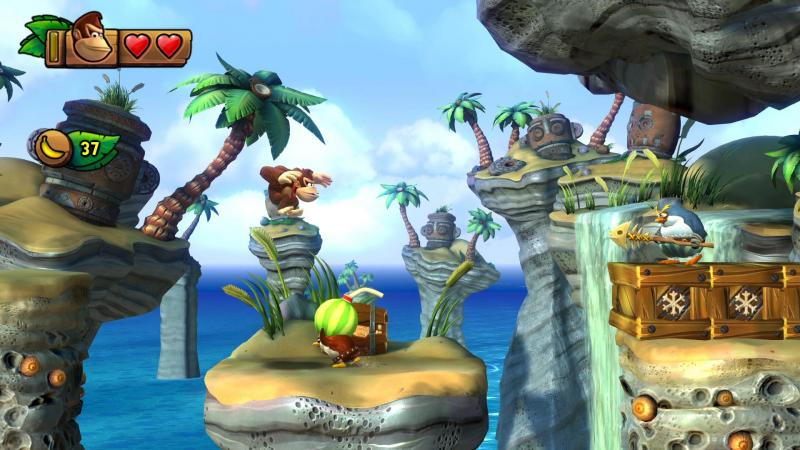 Donkey Kong Country Tropical Freeze Switch Gameplay