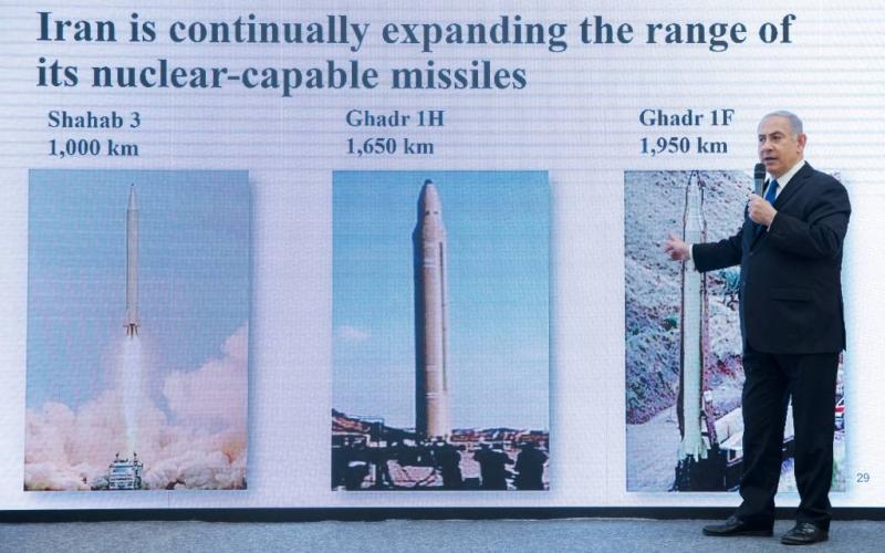 Netanyahu claimt bewijs voor kernwapens Iran