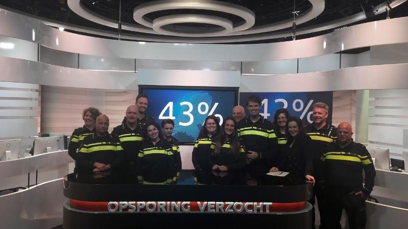 Het belpanel op 1 mei 2018 van Opsporing Verzocht (Foto: Politie.nl)