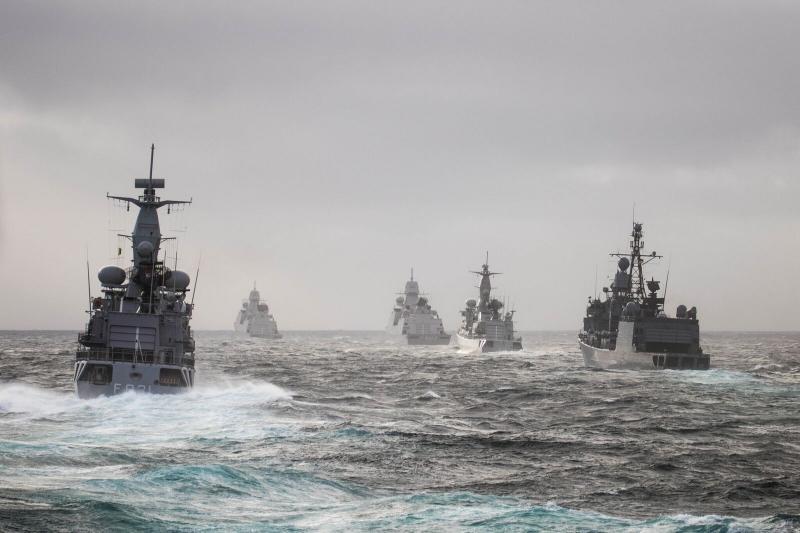 Marine sluit oefening Joint Warrior af  (Foto: Koninklijke Marine)