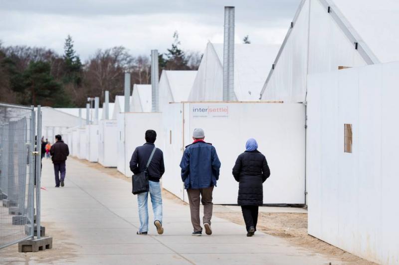 Zo'n 600 asielzoekers vieren samen vrijheid