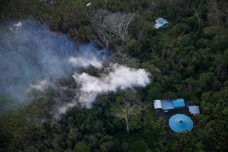 Hawaii getroffen door serie aardbevingen